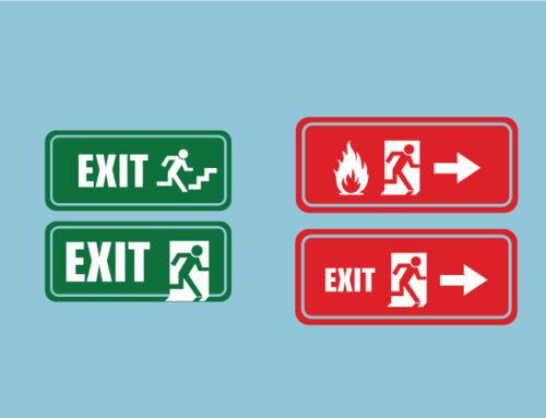 """Etichete """"exit"""""""